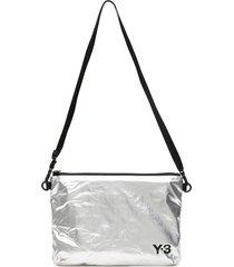 y-3 logo pouch
