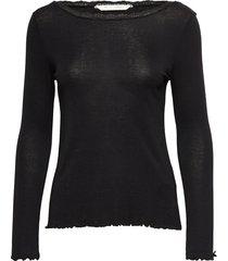 my dearest top t-shirts & tops long-sleeved zwart odd molly