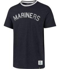 '47 brand men's seattle mariners durham ringer t-shirt