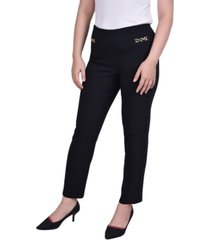 ny collection petite status chain pant