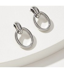 loft double link drop earrings