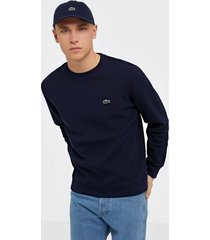 lacoste sweatshirt tröjor navy