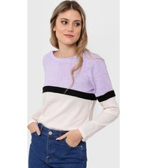 sweater blanco clostudio angora
