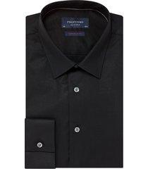 profuomo overhemd super slim fit zwart
