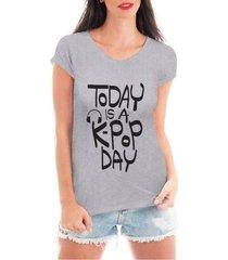 blusa criativa urbana kpop day blusa t shirt