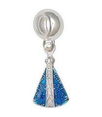 berloque nossa senhora aparecida 12mm resina pratamil joias