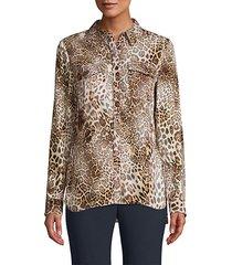 ingunn leopard print blouse