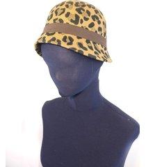 sombrero animal print almacén de parís