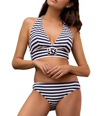 bikini admas 2-delige halsterset bikiniset sailor marine adma's