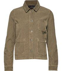 alba jacket jeansjacka denimjacka brun morris lady