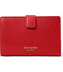 medium sylvia leather bi-fold wallet