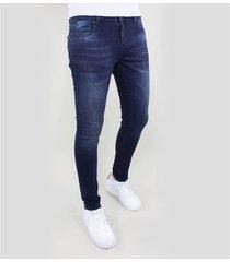 skinny jeans gabbiano denim ultimo jeans dark blue used