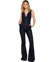 macacão jeans flare alphorria