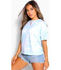 petite tie dye t-shirt, blauw