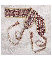 cotton belt, 'andean conquest' (peru)