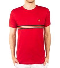 camiseta fondo entero rojo ref. 107111119