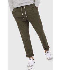 pantalón verde oliva pepe jeans