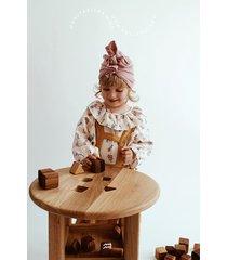 drewniany stolik edukacyjny / sorter kształtów 3