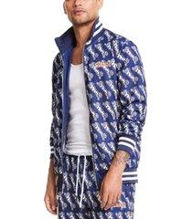 le tigre men's avery logo graphic track jacket