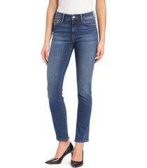 mavi jeans kendra straight leg jeans, size 34 x 34 in indigo super soft at nordstrom