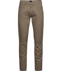 d2. slim dusty twill jeans slimmade jeans beige gant