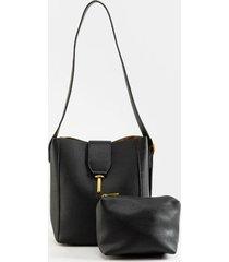 bailey bucket handbag - black