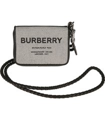 burberry ferris detachable strap logo shoulder bag