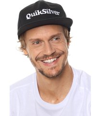 gorra negra quiksilver charkerson