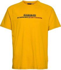 sastia t-shirts short-sleeved gul napapijri