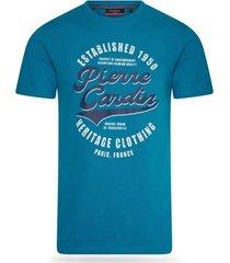 t-shirt korte mouw pierre cardin heritage shirt