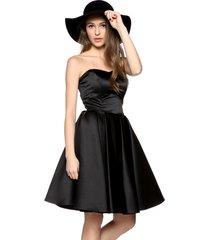 sukienka gorsetowa calineczka czarna