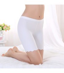 women's panties seamless short smooth silky great elasticity tights short