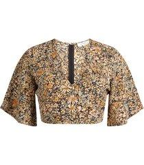ambika shirt / top geel presley