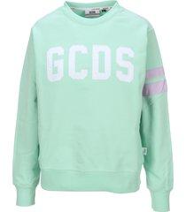 gcds logo patch sweatshirt