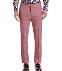 paisley & gray slim fit suit separates slacks raspberry