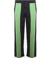 bottega veneta lightweight double technical fabric trousers
