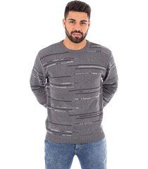 blusão de malha sumaré 10442 cinza