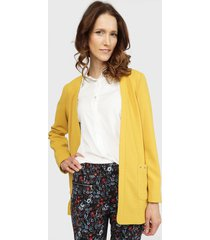 blazer ash amarillo - calce regular