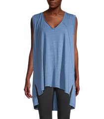 free people movement women's city vibes tank top - blue moon - size xs
