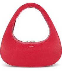 coperni swipe baguette shoulder bag - red