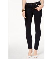 i.n.c. petite skinny tummy control jeans, created for macy's