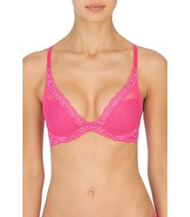 natori feathers bra, women's, pink, size 30dd natori