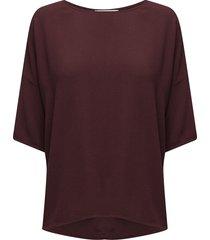 mains tee 5687 blouses short-sleeved lila samsøe samsøe