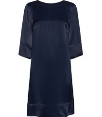 aurore dress korte jurk blauw morris lady