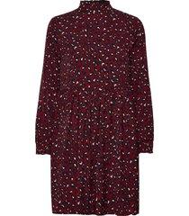 bxhirse dress new knälång klänning röd b.young
