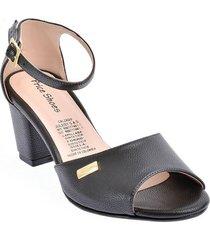 calzado dama ejecutivo tacon 5421004negro