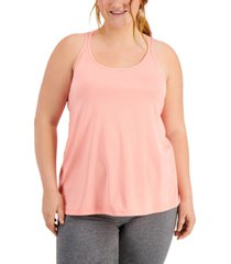 ideology plus size strappy tank top, created for macy's