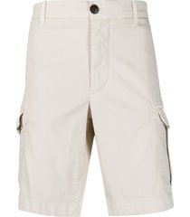 eleventy tailored fitted shorts - neutrals