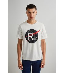 camiseta estampada r ltda reserva branco - branco - masculino - dafiti