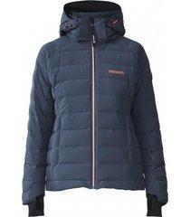 tenson ski jas women icebelle dark grey-maat